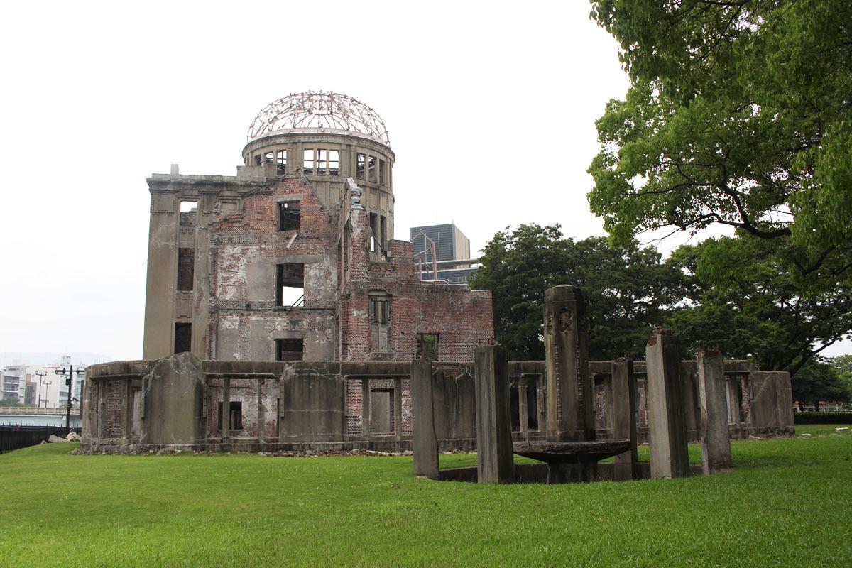 原爆ドーム 170809b