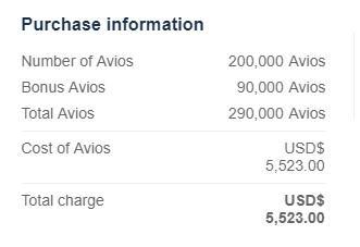 ブリティッシュ・エアウェイズのエグゼクティブ・クラブでマイル購入 45%ボーナスAviosキャンペーン2