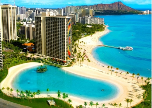 人気のハワイオアフ島のヒルトンハワイアンビレッジでスイートルームが50%OFFセール