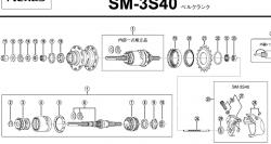 SG3S展開図