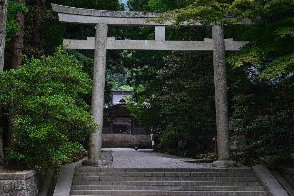 5月の弥彦神社-1