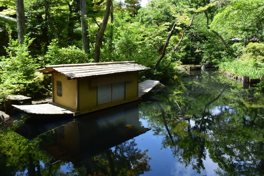 根津美術館と庭園-2
