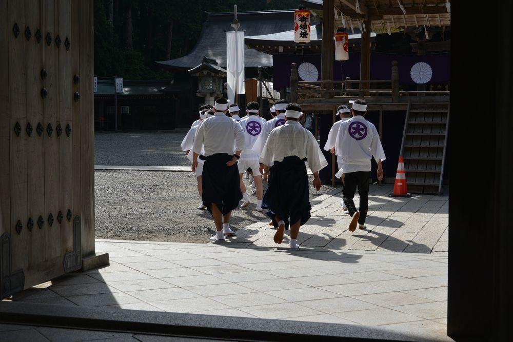 神社の祭り-5