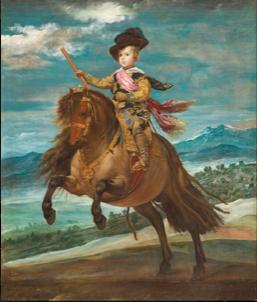 王太子バルタサール・カルロス騎馬像