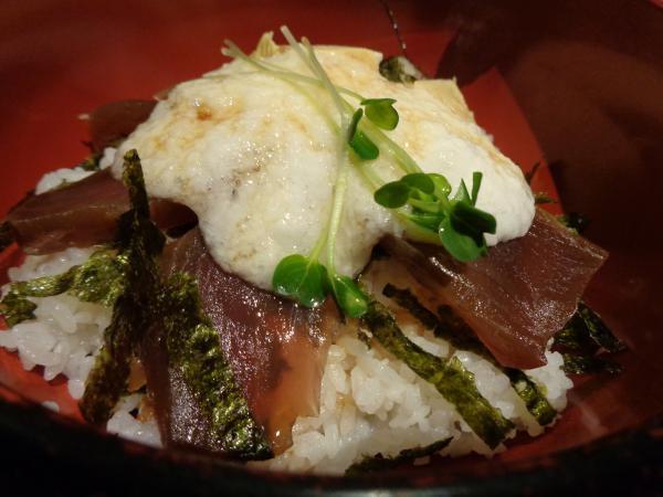 6/14 松栄丸・漬けマグロ丼トロロ添え