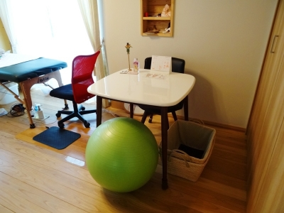 台湾で学んだ本格足つぼ足もみマッサージ・整体を通して根本的な体質改善をお手伝い_整体院の健康グッズ紹介_バランスボール
