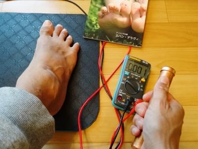 台湾で学んだ本格足つぼ足もみマッサージ・整体を通して根本的な体質改善をお手伝い_整体院の健康グッズ紹介_帯電しがちな電磁波を放電!アーシングマット③
