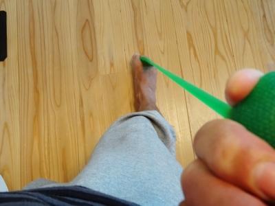 台湾で学んだ本格足つぼ足もみマッサージ・整体を通して根本的な体質改善をお手伝い_整体院の健康グッズ紹介_足指トレーニング_フロッグハンド②