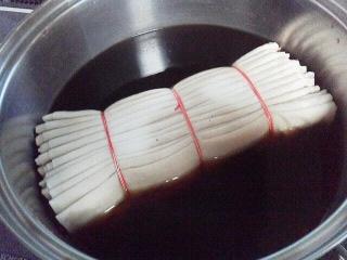 180711敷布紅茶染め