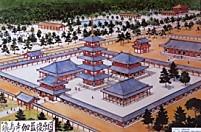 飛鳥寺復元図