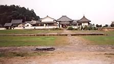 川原寺弘福寺と中門跡