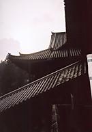 長谷寺階段の屋根