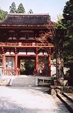 室生寺山門