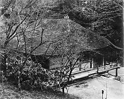 室生寺金堂白黒