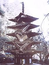 室生寺五重塔台風の被害