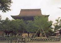金峯山寺蔵王堂遠望