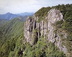 大峯山絶壁