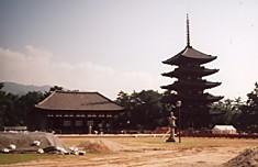 興福寺中金堂発掘と東金堂五重塔