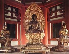 彌勒佛と脇侍興福寺北円堂