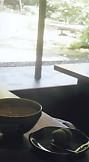 茶室松韻亭お茶とお菓子