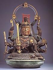 興福寺三重塔辨財天坐像