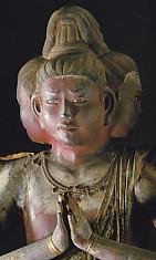 興福寺阿修羅像頭部