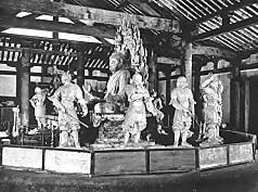 十二神将像新薬師寺