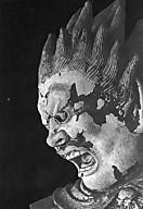 新薬師寺伐折羅大将頭部