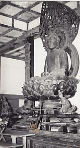 白毫寺本尊阿彌陀如來坐像