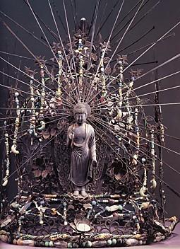 東大寺不空羂索観音寶冠正面