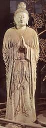 東大寺月光菩薩立像