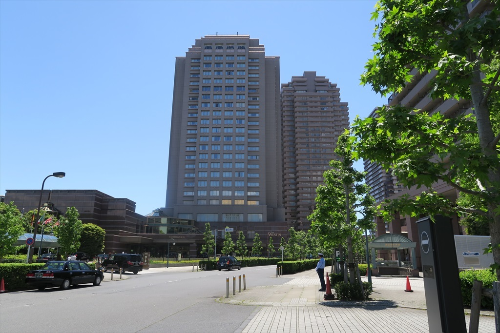 ウェスティンホテルと恵比寿ガーデンテラス壱番館_3