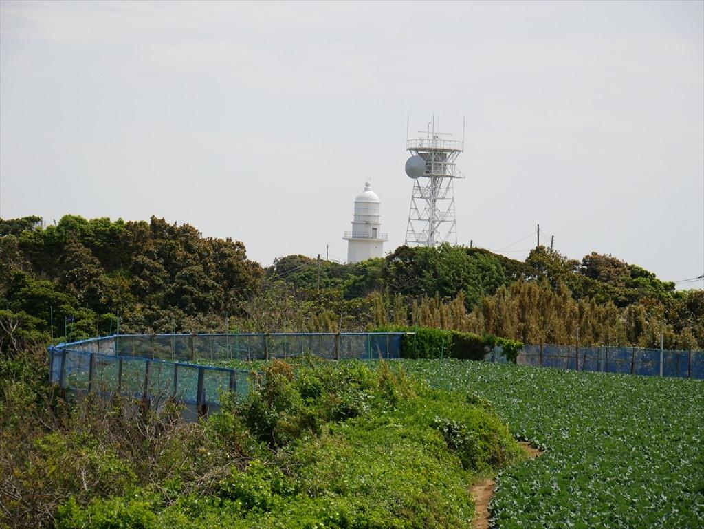 レーダー施設と灯台も間近に_1
