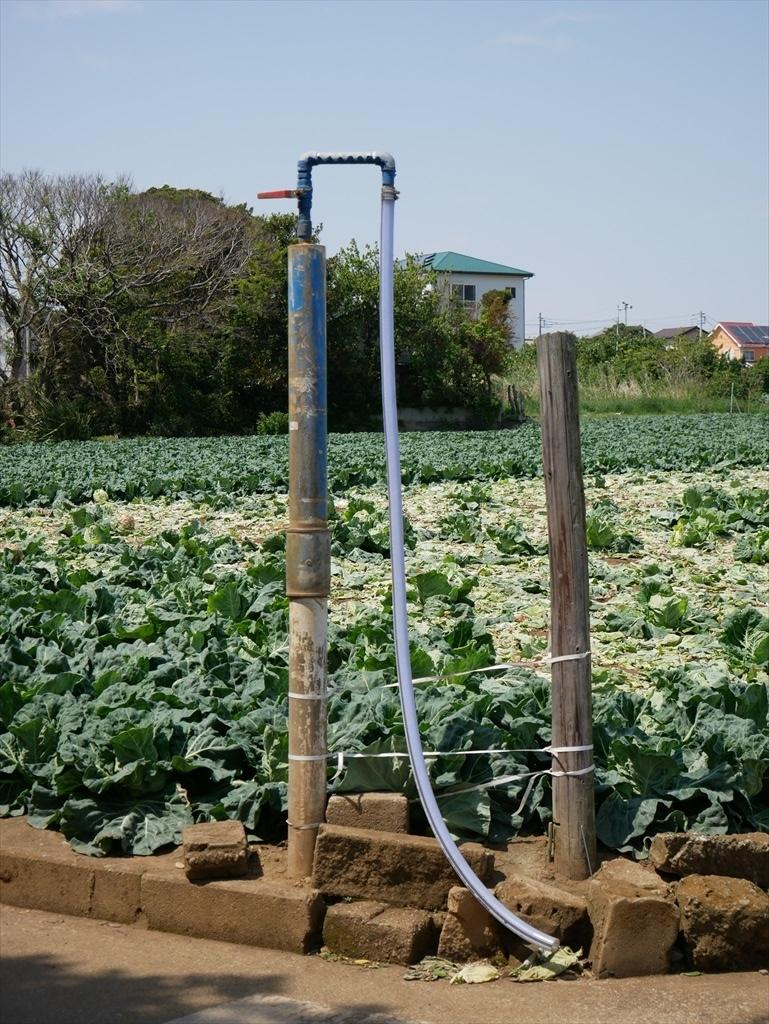 農業用水の水栓