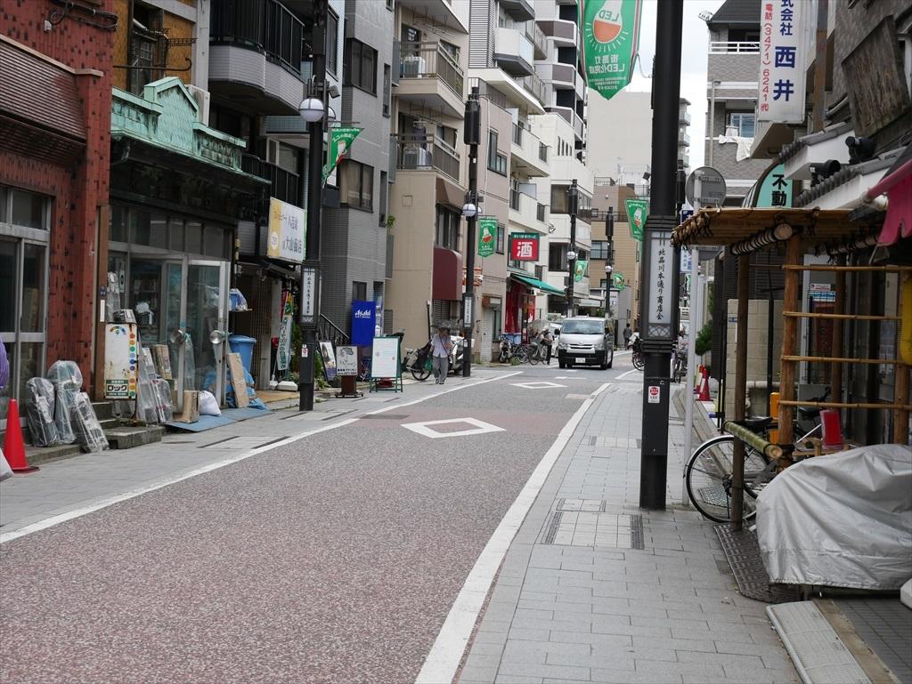旧東海道へ向かう_2