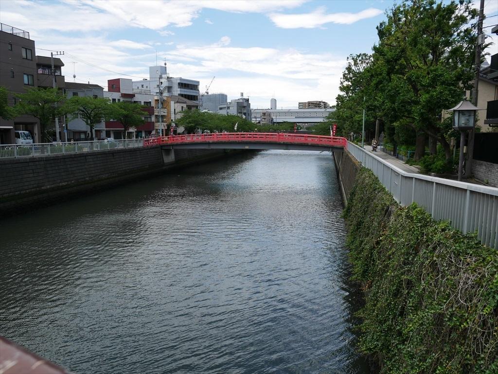 目黒川にかかる品川橋_4
