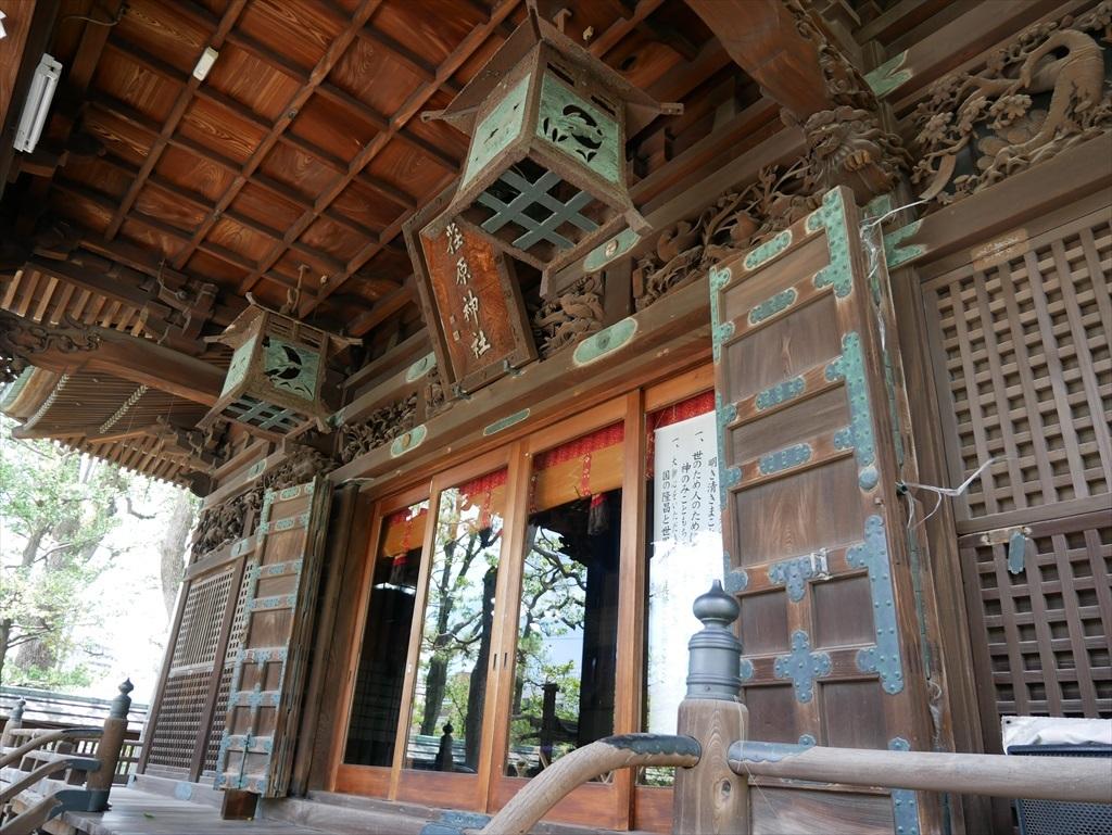 荏原神社_拝殿_3