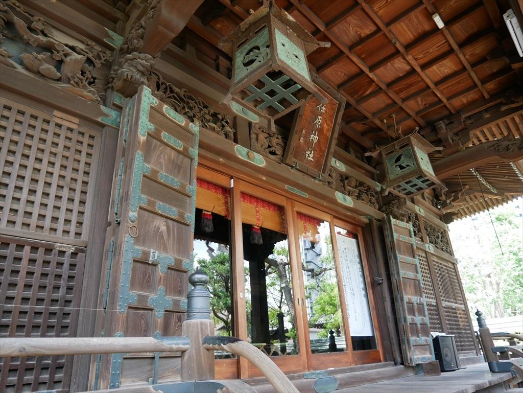 荏原神社_拝殿_5