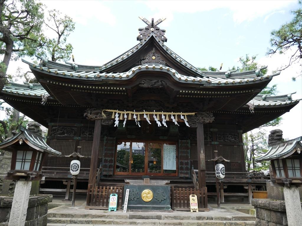 荏原神社_拝殿_6