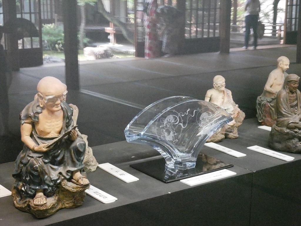 陶製の羅漢像_2