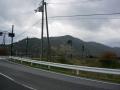 180407宇曽川沿いから荒神山を望む
