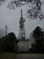 180407山頂の電波塔