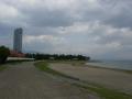 180407大津湖岸の遊歩道をのんびり進む