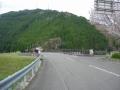 180414日吉橋で桂川を渡り、右折