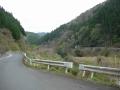 180414桂川沿いに谷あいを進む