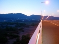 180421玉水橋を渡って大正池へ