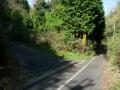 180421水間峠ピーク先の水台林道分岐