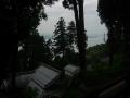 180503本堂から琵琶湖方面を望む