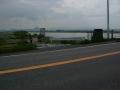180503湖岸を離れ野洲川沿いに入る