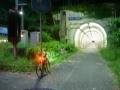 180526早朝の老ノ坂トンネル